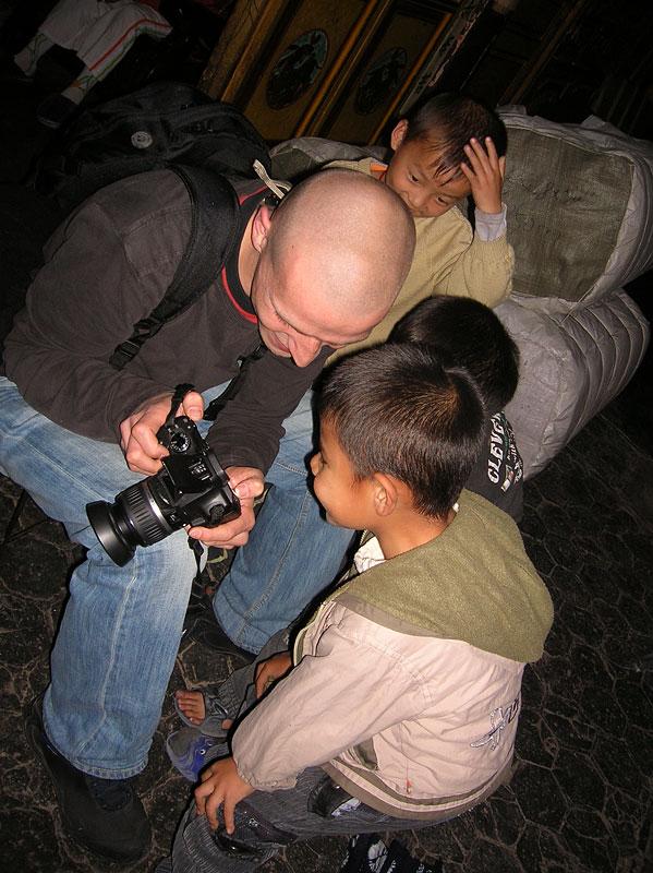 Ja i mali wojownicy, zdjęcie autorstwa Krysi Włodarczak, Dali, Chiny