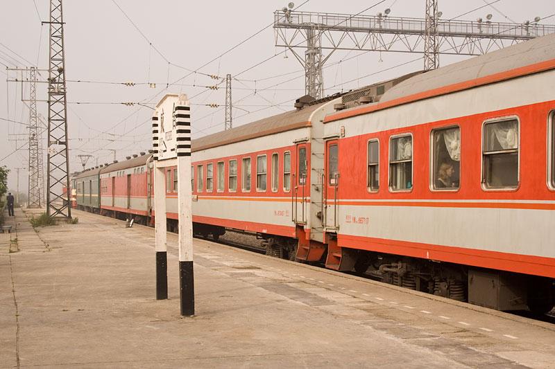 Chiński pociąg, Wei She, Chiny