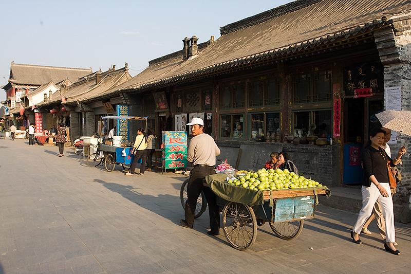 Stara uliczka, Hohhot, Chiny