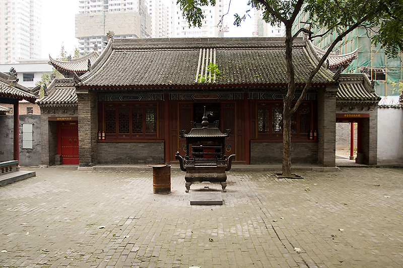 Temple of Eight Immortals, Xian, Chiny