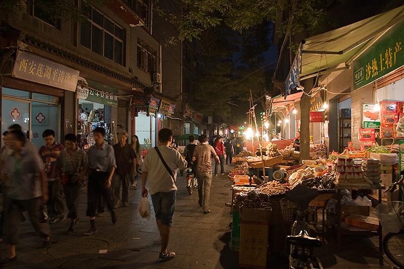 Muslim Quarter, Xian, Chiny