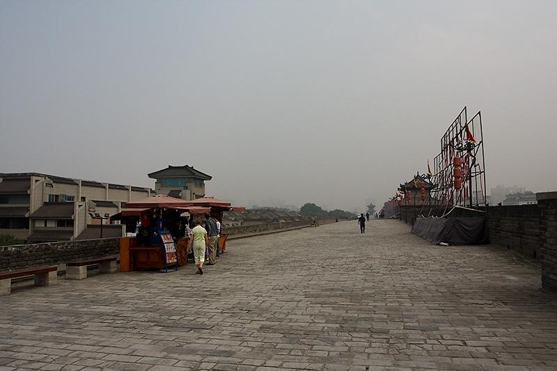 Na miejskich murach, Xian, Chiny