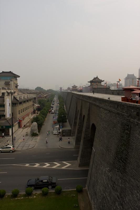Mury miejskie, Xian, Chiny