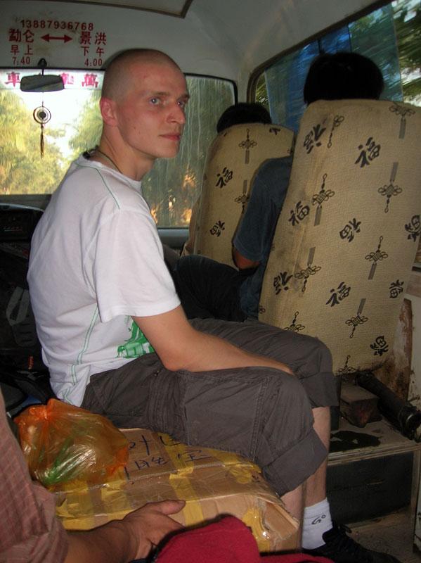 Na pakunkach w autobusie, Chiny