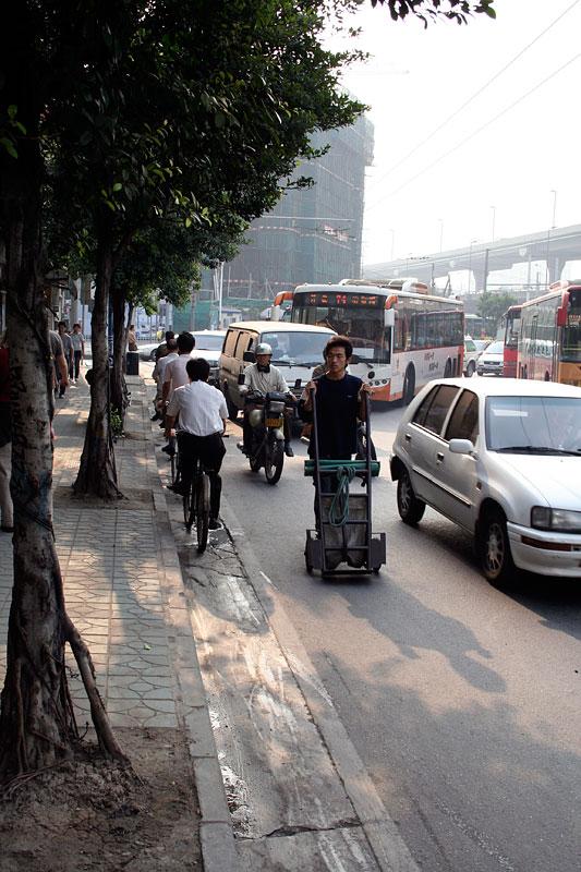 Ulica w Kantonie, Chiny