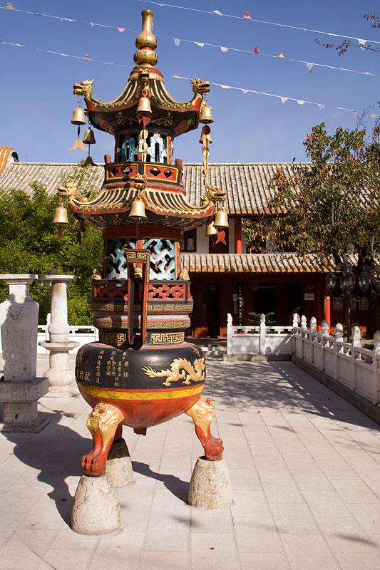 Świątynia Bambusowa Qiongzhu Si, Kunming, Chiny
