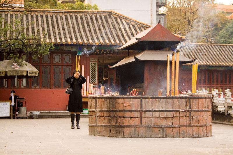 Świątynia Yuantong Si, Kunming, Chiny