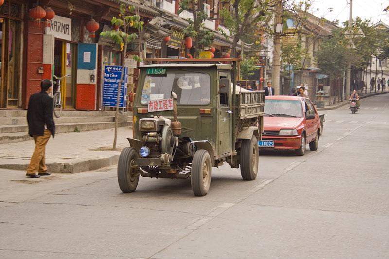Ulice Dali, Yunnan, Chiny
