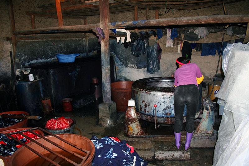 Produkcja batików, Dali, Chiny
