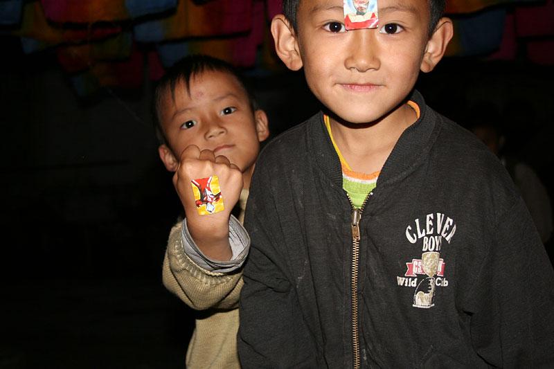 Chińscy chłopcy, Dali, Chiny