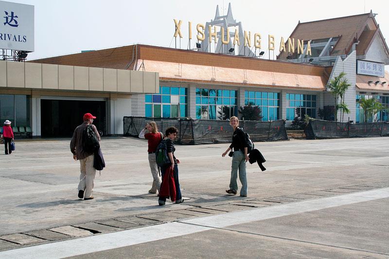 Lotnisko w Xishuangbanna, Chiny