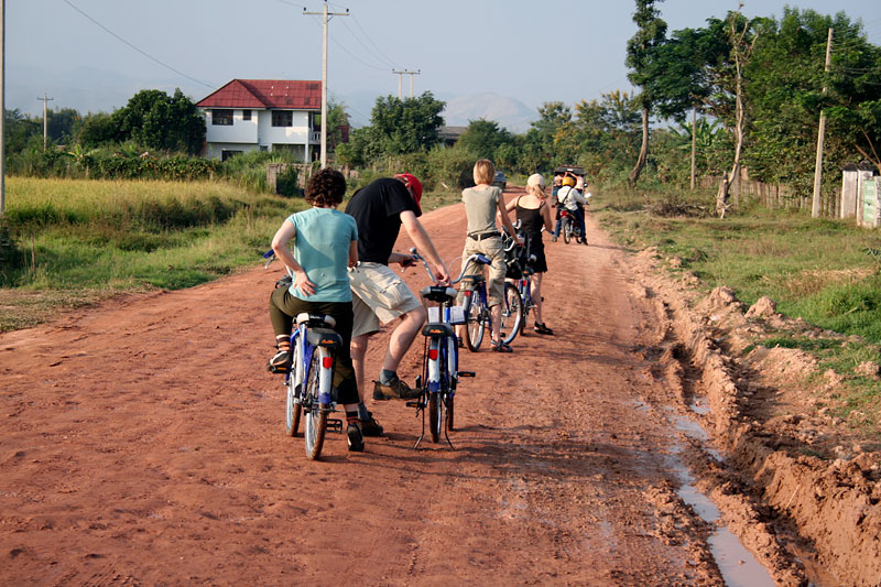 Rowerem po Laosie, Luang Nam Tha, Laos