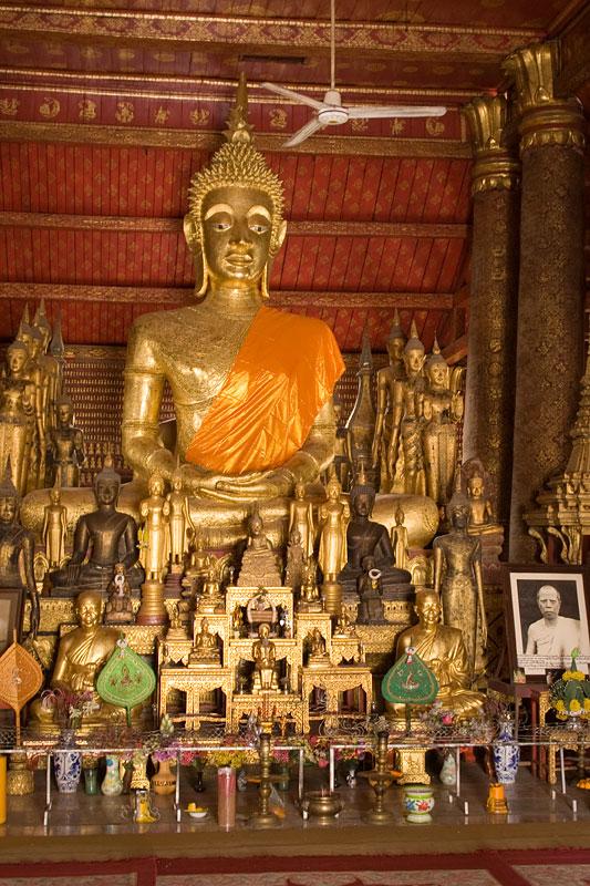 Budda, Luang Prabang, Laos