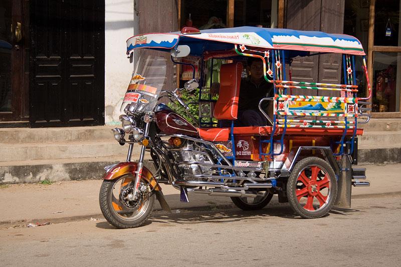 Tuk tuk, Luang Prabang, Laos