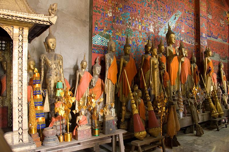 Świątynia, Luang Prabang, Laos