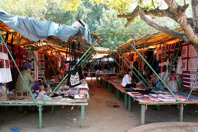 Targ w Luang Prabang, Laos