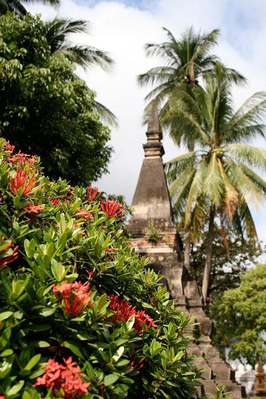 Świątynia w Vientiane, Laos
