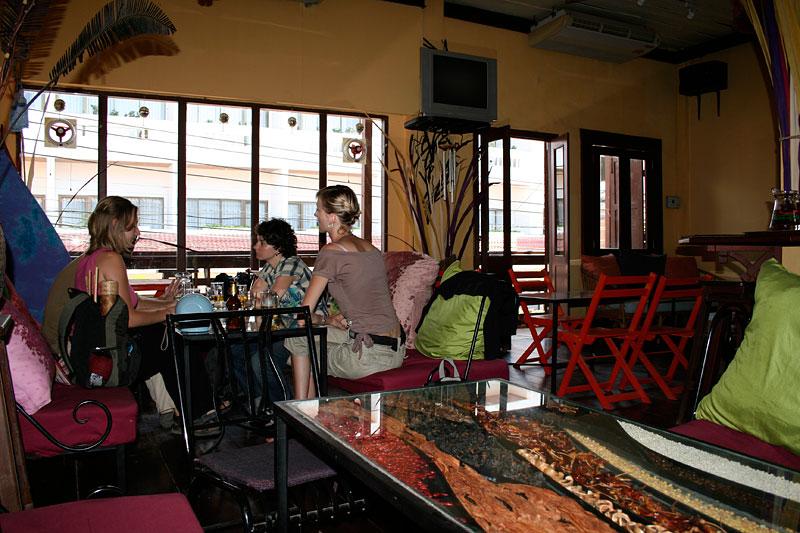 Full Moon Cafe, Vientiane, Laos