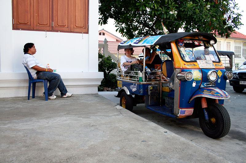 Nasz tuk-tuk, Bangkok, Tajlandia