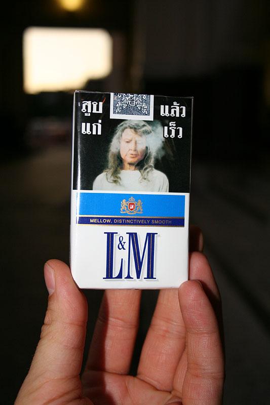 Jeden obraz wart jest tysiąca słów, palenie szkodzi. Tajlandia