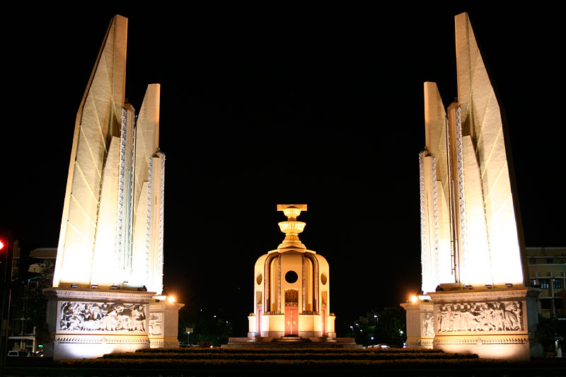 Democracy Monument, Bangkok, Tajlandia