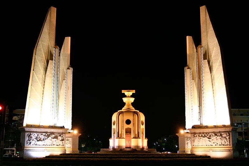 Democracy Monument, Bangkok, Tajlandia