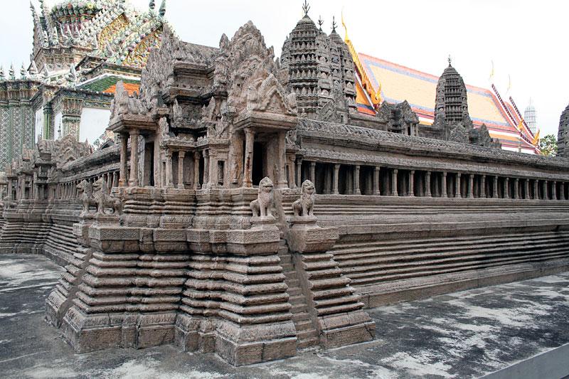 Miniatura Angkor Wat, Bangkok, Tajlandia