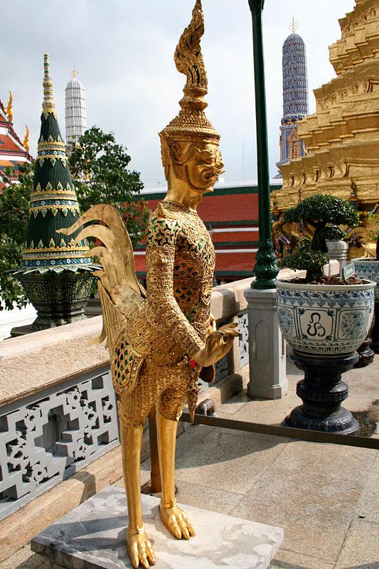 Cudak w pałacu królewskim, Bangkok, Tajlandia