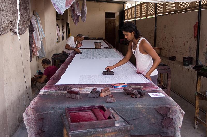 Fabryka tkanin stemplowanych
